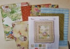 Beatrix Potter Mrs Tiggy Winkle Quilt Kit by Quilting Treasures + Backing Fabric