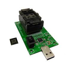 eMMC 153 169 socket with USB Size 11.5x13_0.5mm,BGA nand flash testing Clamshell