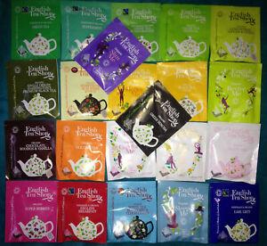 """""""ENGLISH TEA SHOP PYRAMID """" Selection Pack 22 Enveloped Tea Bags,"""