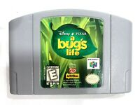 A Bug's Life Nintendo 64 N64 Tested + Working & Authentic!