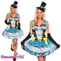 Ladies Luxury Burlesque Showgirl Halloween Hens Party Fancy Dress Costume Hat