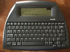 Alphasmart Neo2 Portable Wo 00004000 Rd Processor. Usb cable included.