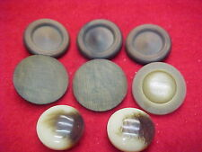 Vintage Set of Buttons (Set # 82) Buttons brown in color