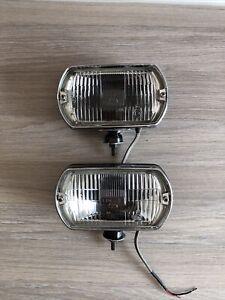 Pair Of Original Vintage Classic Lucas FT8 Lights