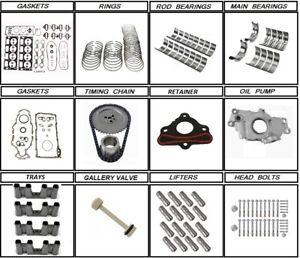 2004 - 2007 LQ9 LS2 Chevrolet GM 6.0 Engine rebuild kit Value Added