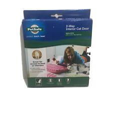"""PetSafe 2-Way Interior Cat Door Up to 15lb 5-3/4""""x 5-3/4"""" Flap Opening"""