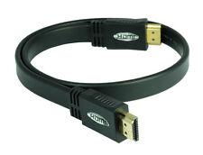 7,5m High Speed HDMI Flach Kabel (Ultra HD, 4Kx2K, Full HD, 3D, ARC, CEC, HDTV)