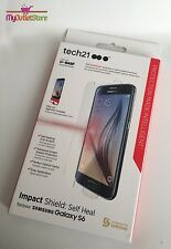 Tech21 Impact Shield Screen Protector with Self Heal for Samsung Galaxy S6
