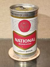 1965 ALUMINUM NATIONAL BOHEMIAN ZIP TOP BEER CAN BALTIMORE MARYLAND 3 CITY