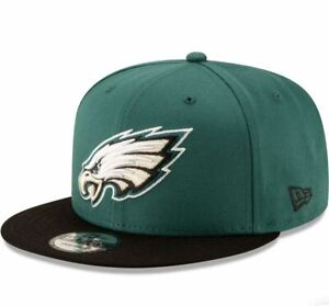 Philadelphia Eagles New Era 9FIFTY Basic Adjustable Snapback Hat