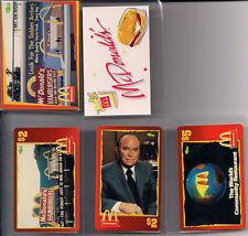 1996 McDonald's Premiere Edition Trading Card Set Collection +CHASE/INSERTS