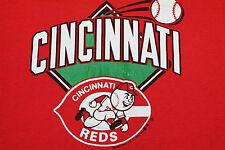 M * vtg 80s 1988 Cincinnati Reds t shirt * 78.65