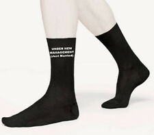 MENS UNDER NEW MANAGEMENT/JUST MARRIED WEDDING SOCKS GIFT SIZE 6-12