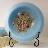 NEW Habersham Wax Pottery Bowl Seascape Flameless Candle