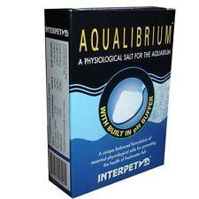 INTERPET AQUALIBRIUM 260G PHYSIOLOGICAL SALT  AQUARIUM + PH BUFFER FRESHWATER
