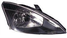 Headlight right black ford focus she 10/1998-09/2001
