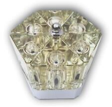 Lampada originale fidenza vetraria alessandro mendini 1970 cuboluce vintage