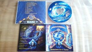 GAMMA RAY Somewhere out in space ORG 1997! Helloween Iron Savior Freedom Call