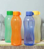 Set of 4 Tupperware Aquasafe Bottles | 1 Litre | 100% Original + Free Shipping