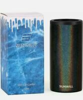 Sunwill Slim 12oz Insulated Can Cooler in Glitter Charcoal