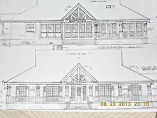 Custom Home Plan 2798 A/C Sq. Ft. One Story 3 Bed Study 3 Baths Sun Room Porch