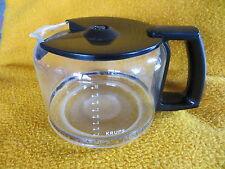 KRUPS Pro Aroma Glaskanne Kaffeekanne Ersatzkanne für Kaffeemaschine Glas
