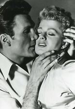 "JACK PALANCE SHELLEY WINTERS ""LA PEUR AU VENTRE"" PHOTO DE PRESSE CINEMA CM"