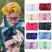 Kid Girl Baby Headband Toddler Lace Bow Flower Hair Band Headwear Accessori D7Z4