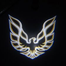 2xGolden Eagle symbol Car door step LED projection laser projector welcome light