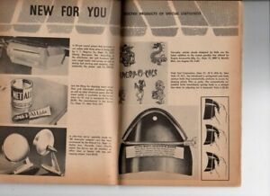 Vtg Customs Illustrated Magazine Hot Rod Custom July 1960 Weirdo Ed Roth Ad