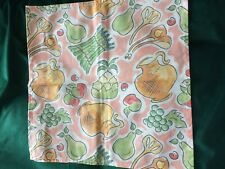Vintage Laura Ashley Napkin - Asparagus