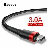 Baseus USB Type C Cable Mobile Phone Cable Fast Charging USB C For Xiaomi redmi