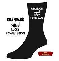 Lucky golf fishing socks DAD GRANDAD GRANDPA UNCLE Novelty Birthday XMAS Gift
