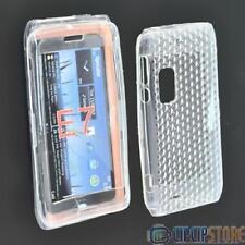 Custodia in silicone TPU trasparente per Nokia E7,