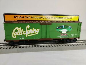 MTH Rail King O 30-7869 Cold Spring Beer Modern Reefer Car With Original Box