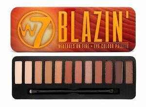 W7 Blazin' Eye Shadow Palette