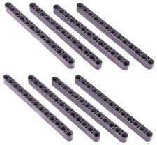 LEGO Technic LIFTARM DARK GREY (pack of 8) 13L 13-holes mindstorm nxt beam NEW