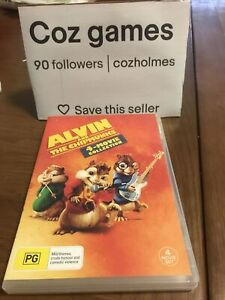 Alvin And The Chipmunks 4-Movie Collection 3x DVDs Australian Release