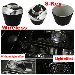 8-Key Wireless Car Steering Wheel Control Button Vol/ Mute Button Universal