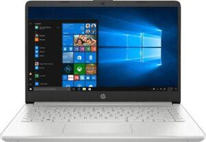 "New HP 14"" Touch Screen Laptop Intel i3 11th Gen 8GB 256GB SSD Silver Win 10 S"