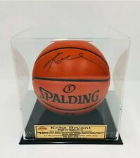 Kobe Bryant Hand Signed Official Spalding NBA Basketball In Deluxe Case COA