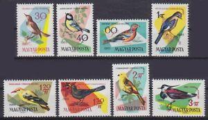 Fauna Vogel 1961 Ungarn Mi 1808 - 1815 **, postfrisch, MNH