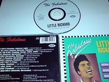 THE FABULOUS LITTLE RICHARD - ORIGINAL RECORDINGS - CD ALBUM