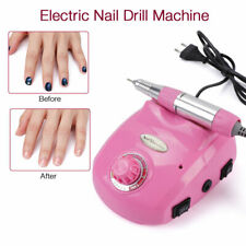Portable Manicure Pedicure 30000 RPM Nail Drill Machine Electric Strong Pink