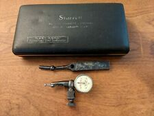 Starrett Last Word Dial Indicator No 711 F With Case