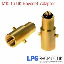 LPG Autogas Filling Point Adapter PL M10 Dish -> UK Bayonet
