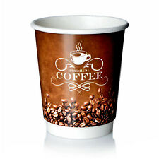 Coffee to go Becher 0,2l Double Wall Pappbecher Premium 50 Stk