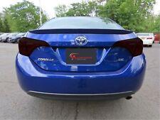 Toyota Corolla Smoked Tinted Taillight Overlay Vinyl Film Precut Dark Smoked 20%