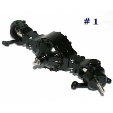1/14 rc car truck parts for Tamiya 4X4 6X4 Metal steering Axle #1 w/ diff lock