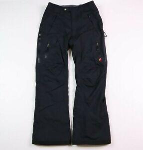 Alpine Design Men's Medium Snowboard Ski Snow Pants Nylon Black
